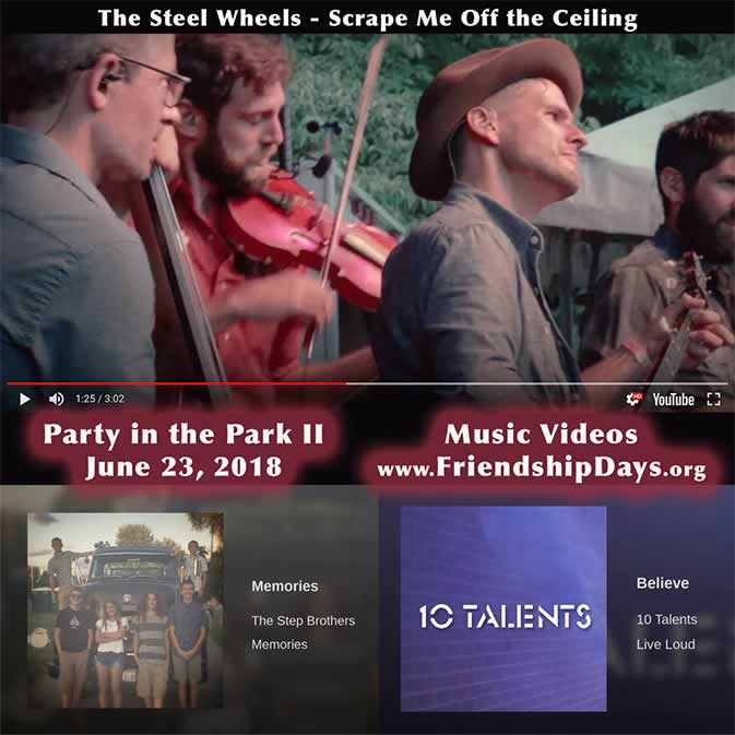 The Steel Wheels band - 10 Talents band - The Step Brothers band