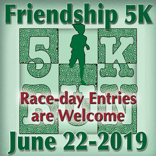 Race-day Entries are welcome