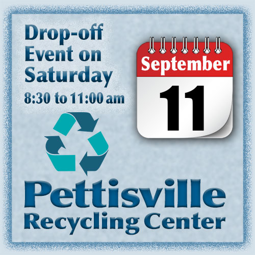 Pettisville Recycling Center Drop-off Event