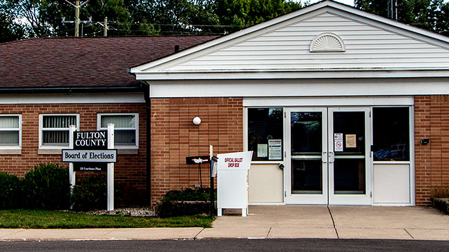 Wauseon OH Fulton Co Board of Elections office