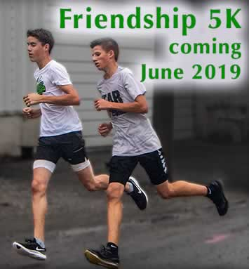 Friendship Days 5K planned for 2019